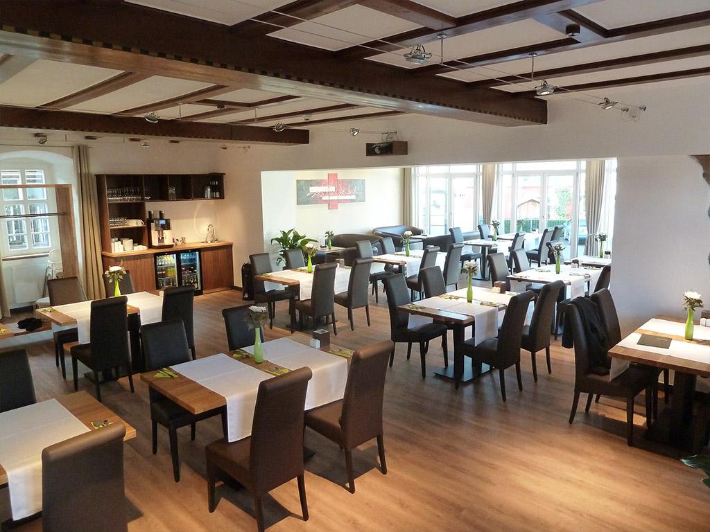 Seminar- und Frühstücksraum im Hotel